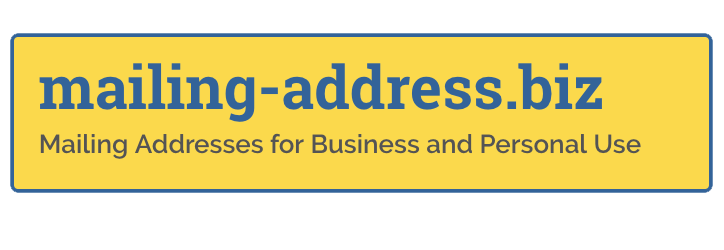 Mailing Addresses for Business and Personal Use